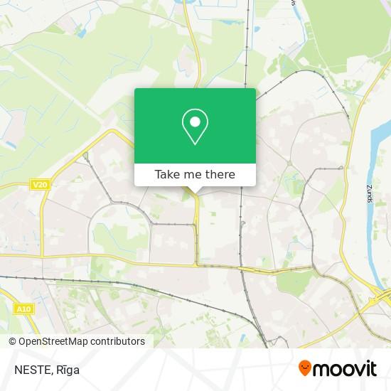 NESTE map