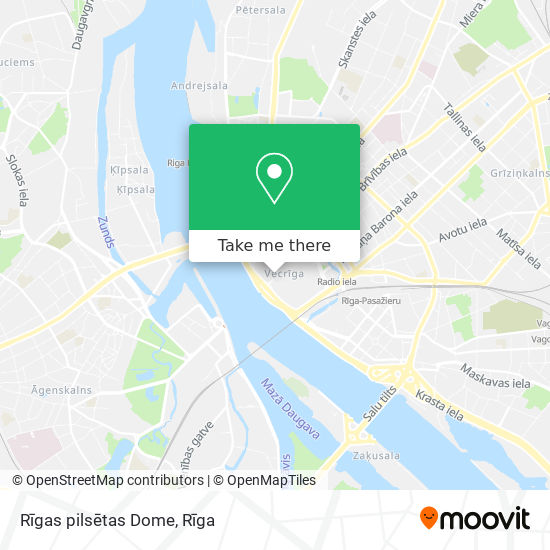 Rīgas pilsētas Dome map