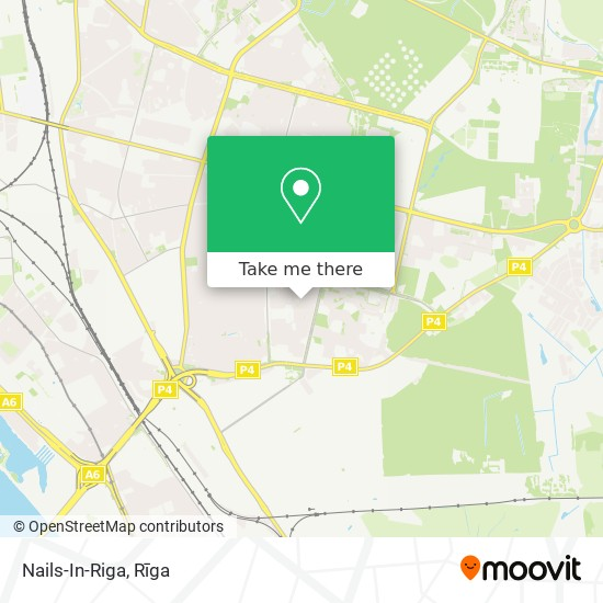 Nails-In-Riga map