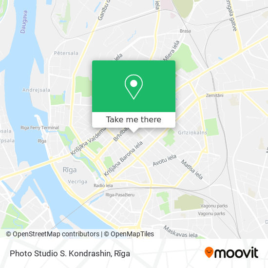 Photo Studio S. Kondrashin map