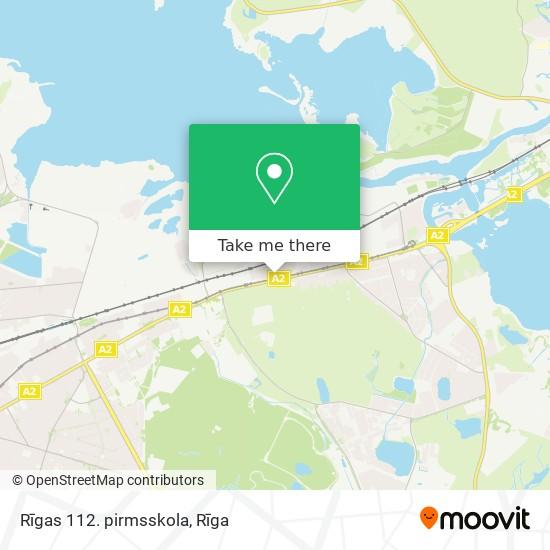Rīgas 112. pirmsskola map