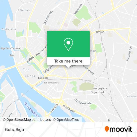 Guts map