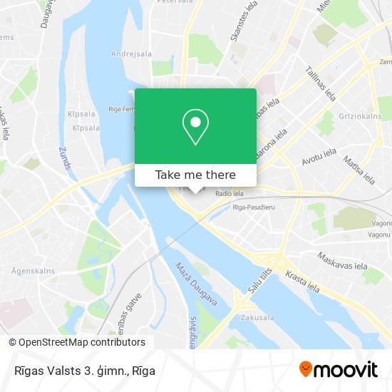 Rīgas Valsts 3. ģimn. map