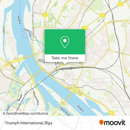 Triumph International map