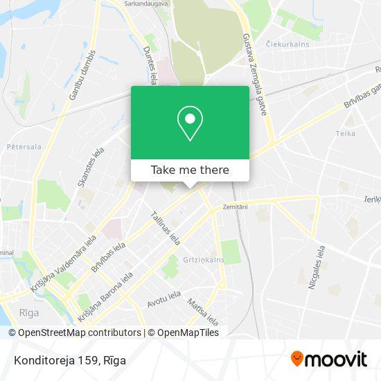 Konditoreja 159 map