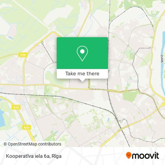 Kooperatīva iela 6a map