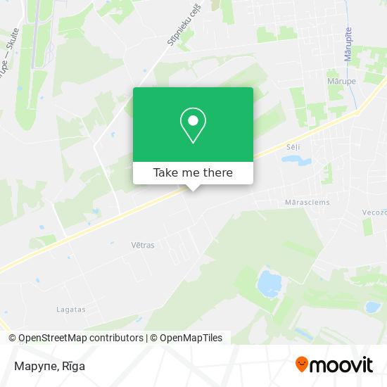 Марупе map