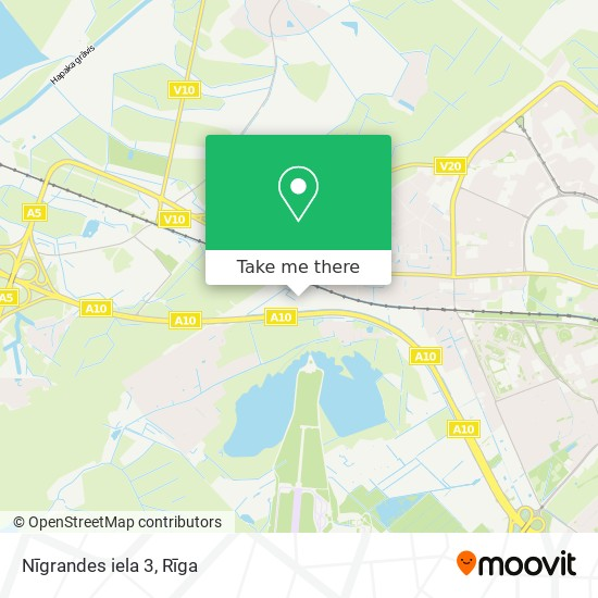 Nīgrandes iela 3 map