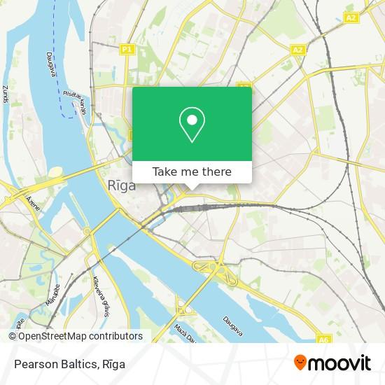 Pearson Baltics map