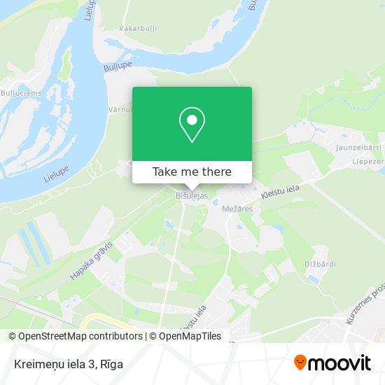 Kreimeņu iela 3 map