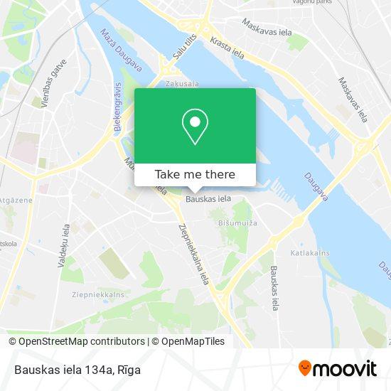 Bauskas iela 134a map
