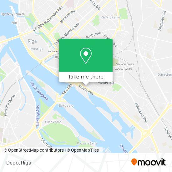 Depo map