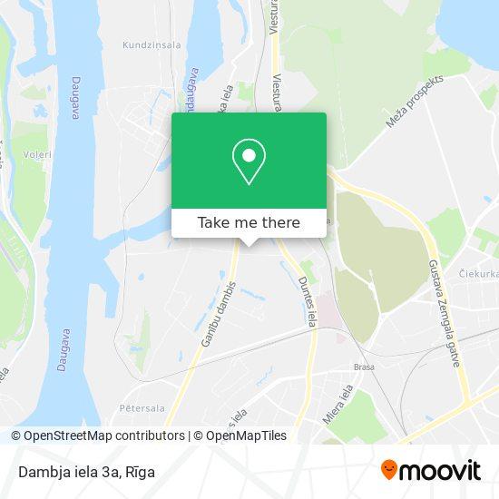 Dambja iela 3a map