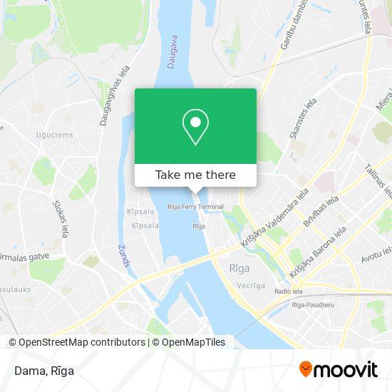 Dama map