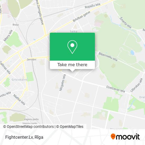 Fightcenter.Lv map