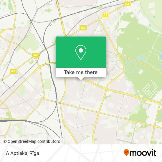 A Aptieka map