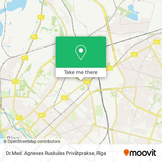 Dr.Med. Agneses Ruskules Privātprakse map
