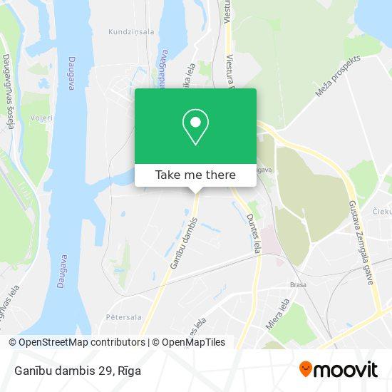 Ganību dambis 29 map