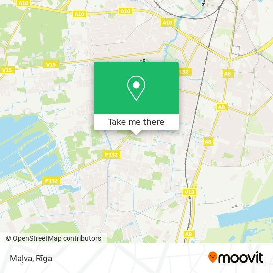 Maļva map