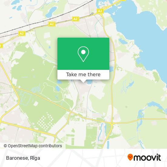 Baronese map