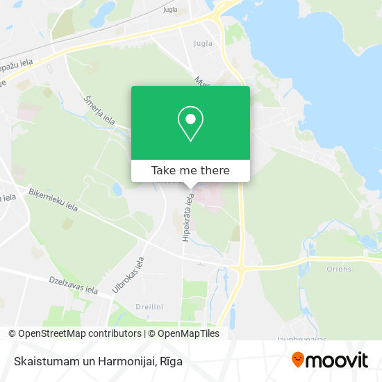 Skaistumam un Harmonijai map