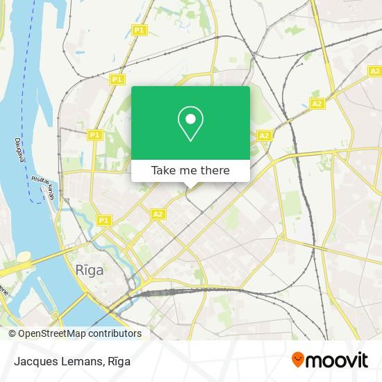 Jacques Lemans map