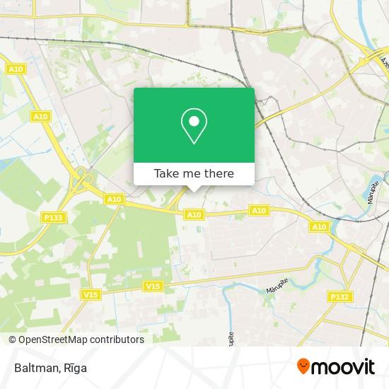 Baltman map