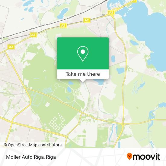 Moller Auto Rīga map