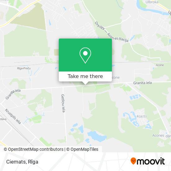 Ciemats map