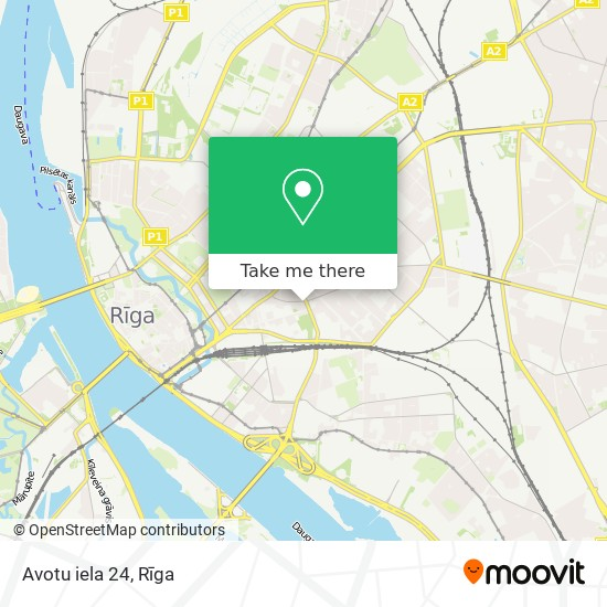 Avotu iela 24 map