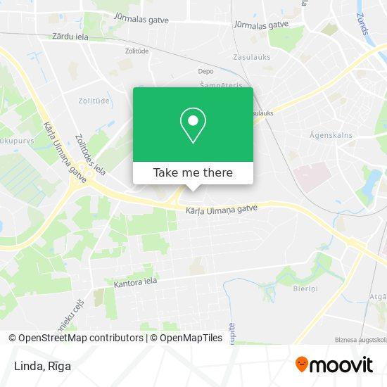 Linda map