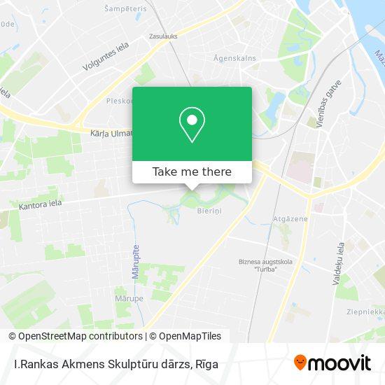 I.Rankas Akmens Skulptūru dārzs map