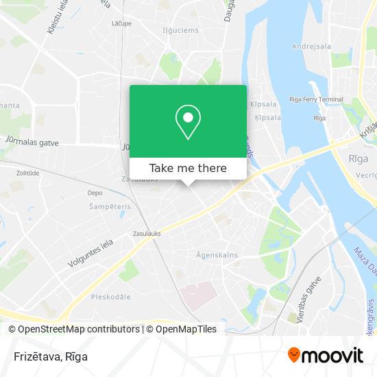 Frizētava map