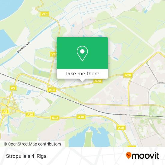 Stropu iela 4 map