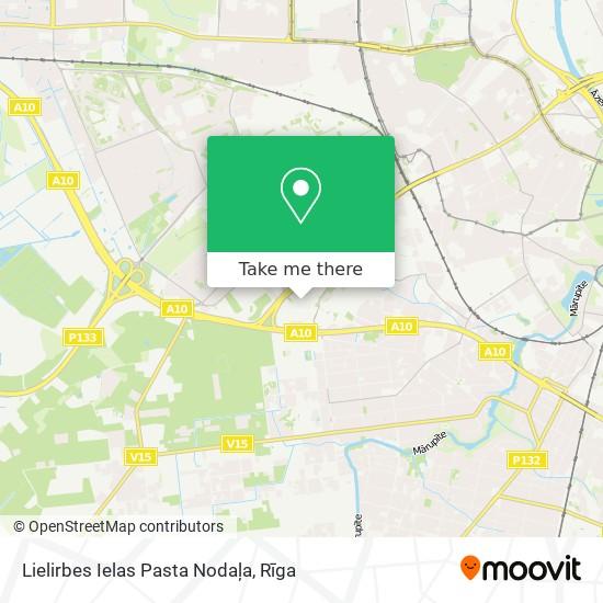 Lielirbes Ielas Pasta Nodaļa map