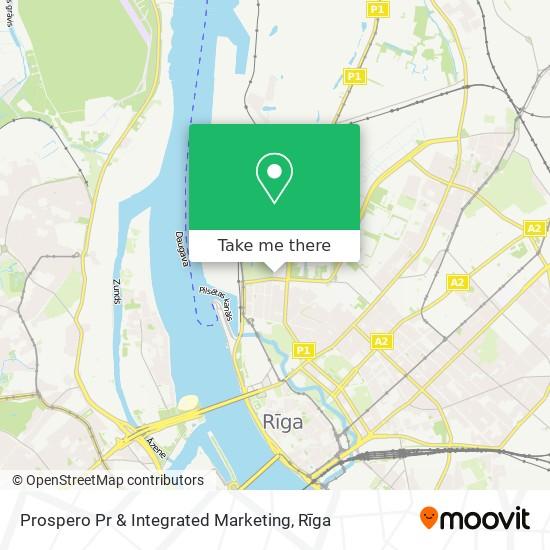Prospero Pr & Integrated Marketing map