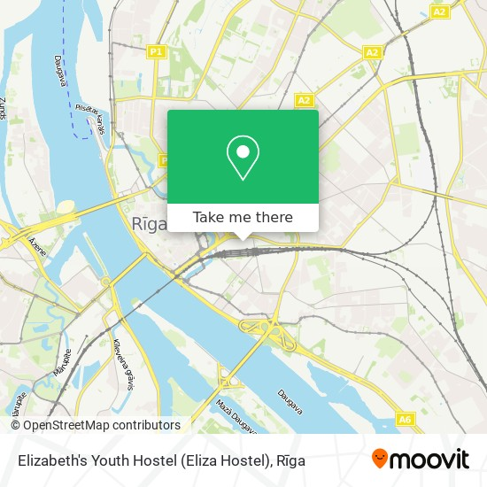 Elizabeth's Youth Hostel (Eliza Hostel) map