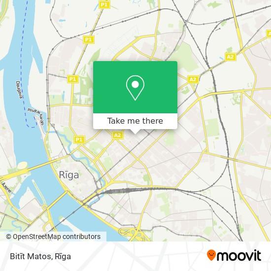 Bitīt Matos map