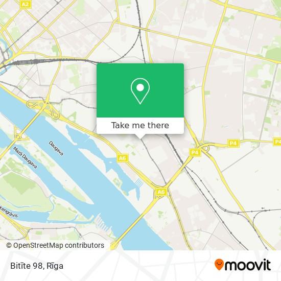 Bitīte 98 map