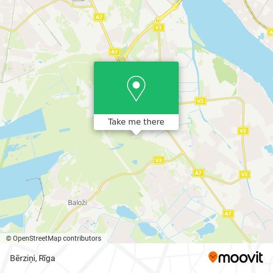 Bērziņi map