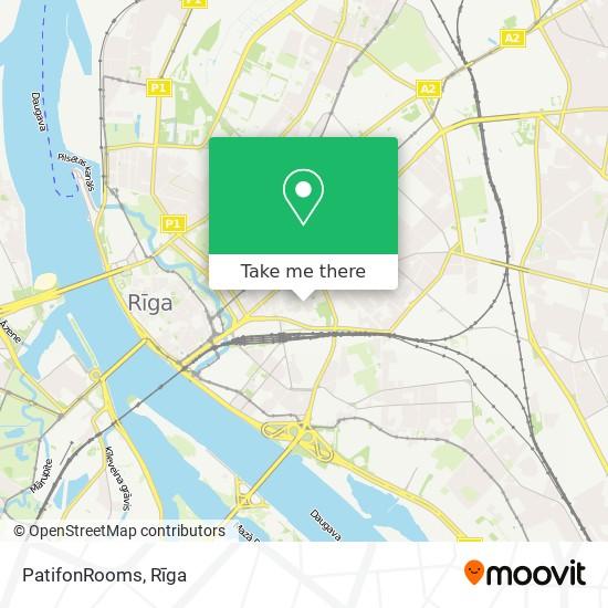 PatifonRooms map