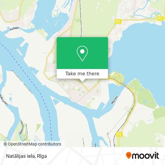 Natālijas iela map