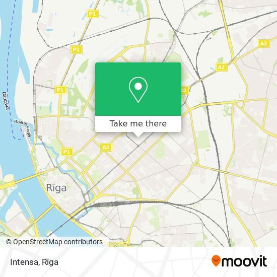 Intensa map