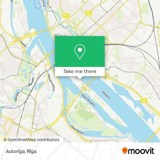 Autorīga map