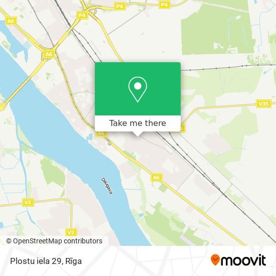 Plostu iela 29 map