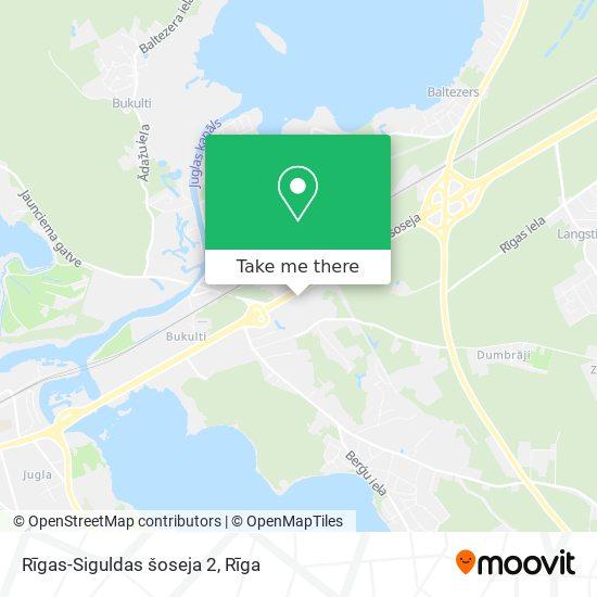 Rīgas-Siguldas šoseja 2 map
