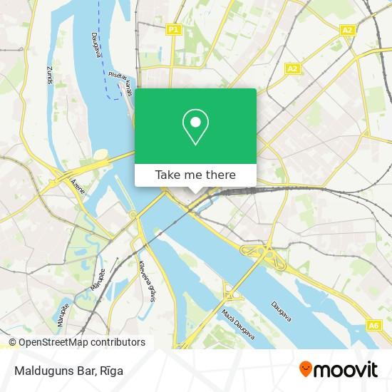 Malduguns Bar map