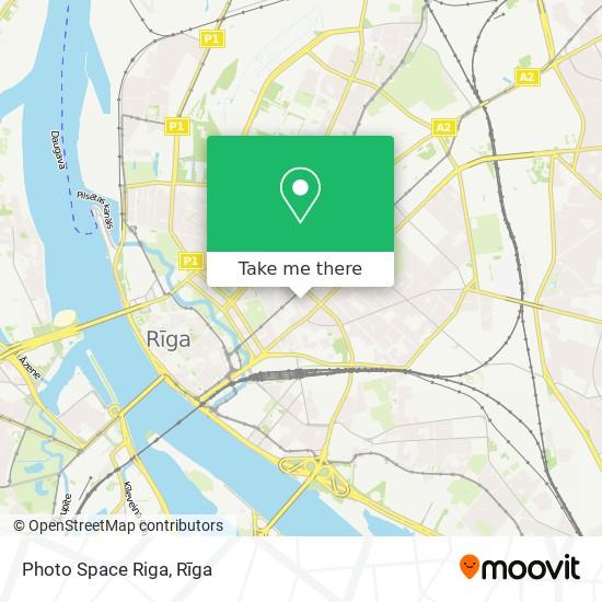 Photo Space Riga map