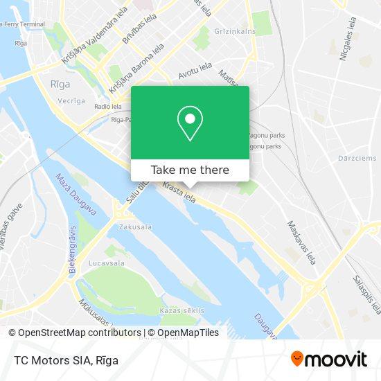 TC Motors SIA map