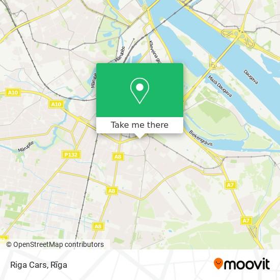 Riga Cars map